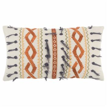 Rizzy Home 13108 Geometric Decorative Pillow