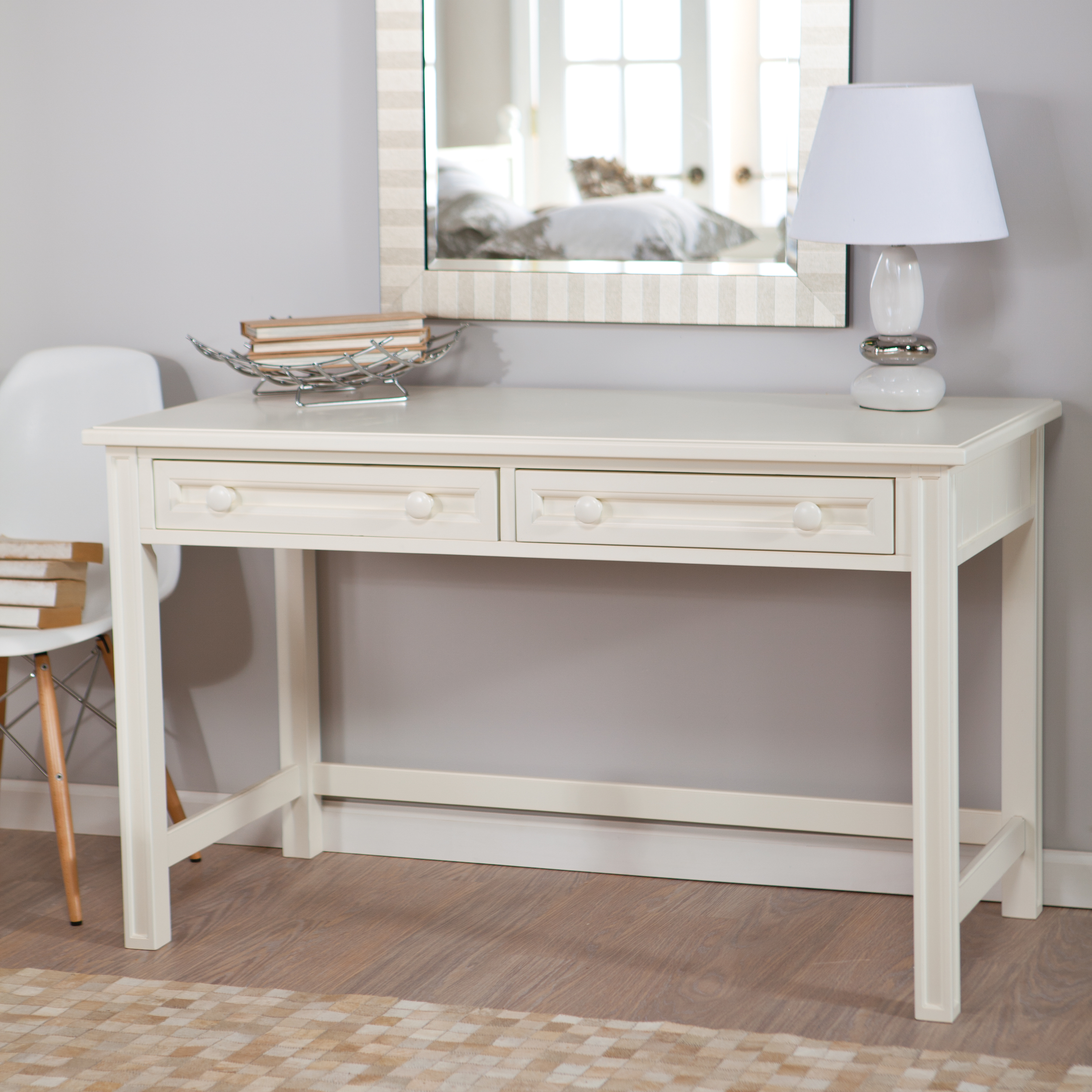Belham Living Casey White Bedroom Vanity | Hayneedle