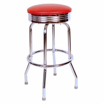 Richardson Seating Floridian 24 in. Backless Swivel Counter Stool