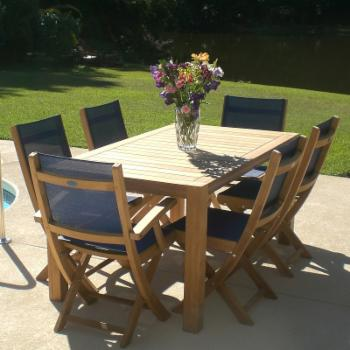 Royal Teak Comfort Patio Dining Table