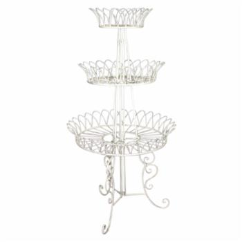 Sagebrook Home 3 Tier Metal Plant Stand