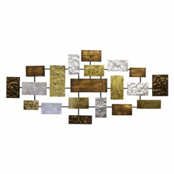 Sagebrook Home Abstract Rectangles Wall Accent