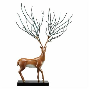 San Pacific International Proud Stag Sculpture