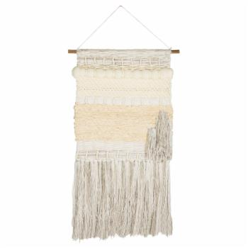 Safavieh Sedona Woven White and Creme Wall Tapestry