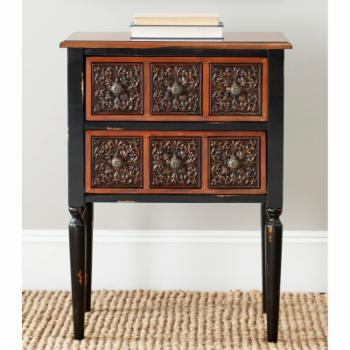 Safavieh Kenneth 2 Drawer Side Table