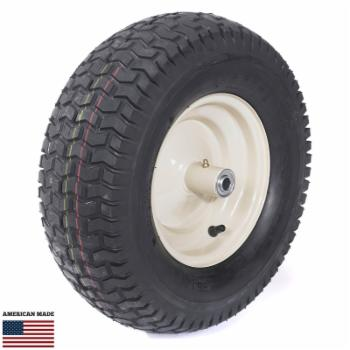 Scenic Road Wheel with Bearing & Grease Fitting - 4 Ply Turf Tire