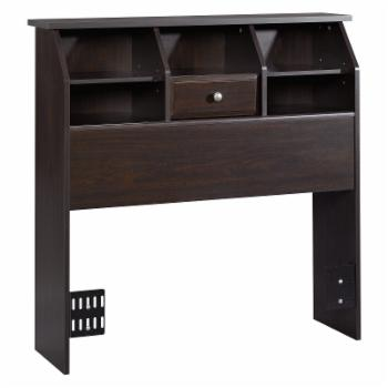 Sauder Shoal Creek Bookcase Headboard