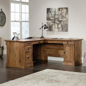 hayneedle office desks rustic l home desk master shaped