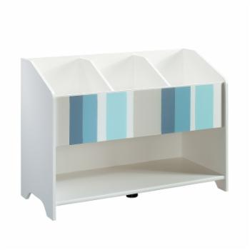 Better Homes & Gardens Cartwheel Footboard Bookcase - White