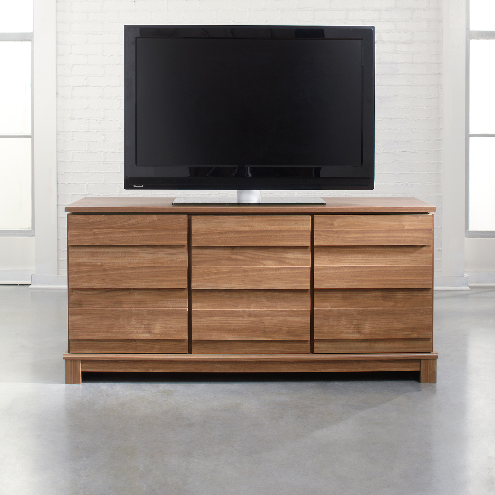 Barrister Lane Corner TV Stand   Salt Oak | Hayneedle