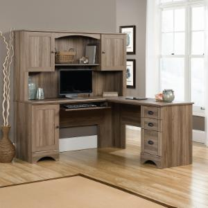 naindien and shaped corner desk l awesome office id black cherry with hutch