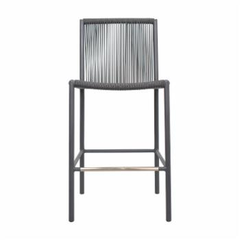 Seasonal Living Stockholm Counter Height Patio Dining Side Chair - Set of 2