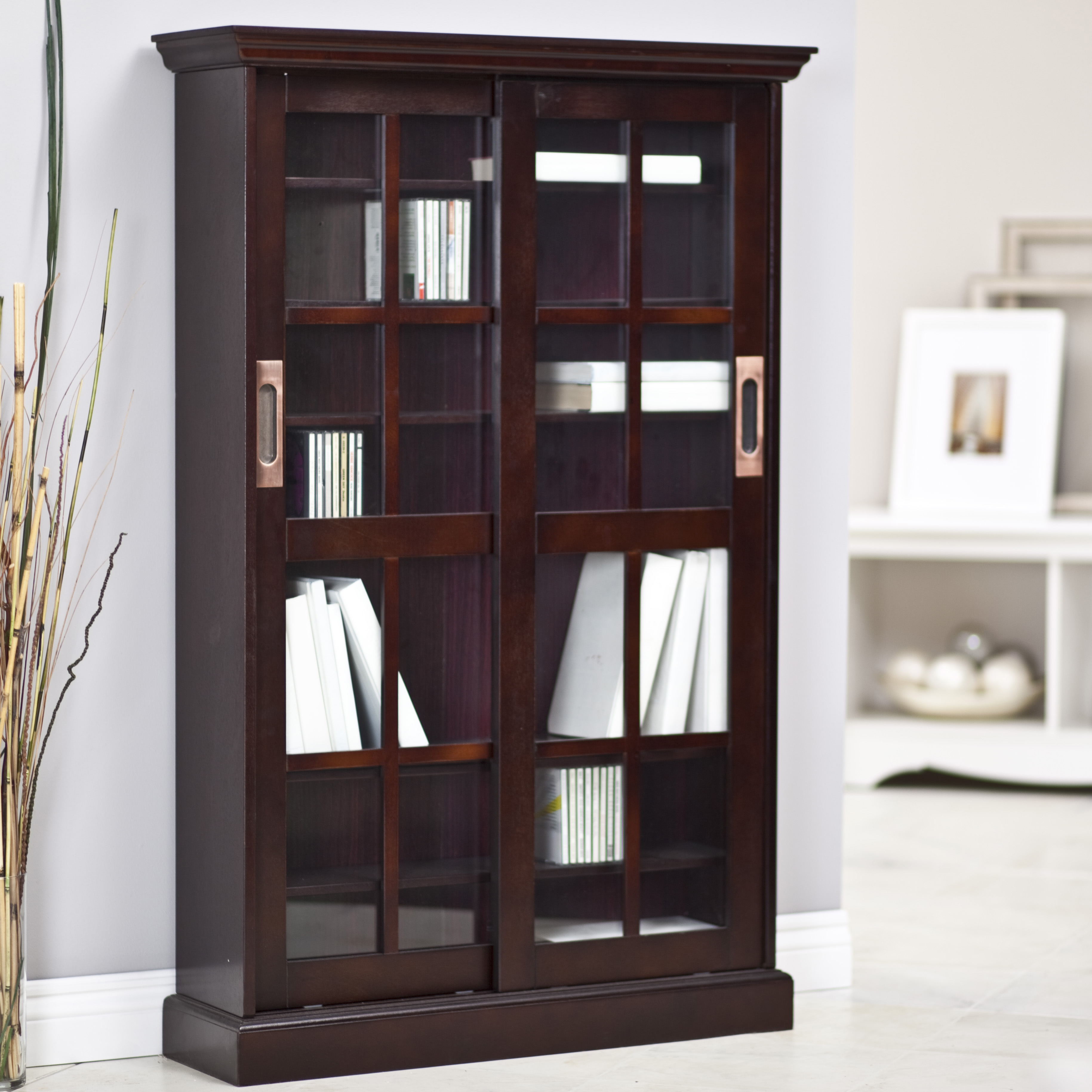 ceramic glass floor white wooden windows dye indigo sliding bookcases book choosing craft area rugs brown stained black chair frame picture bookcase considerations door a shelf curtains patio family light storage for tile