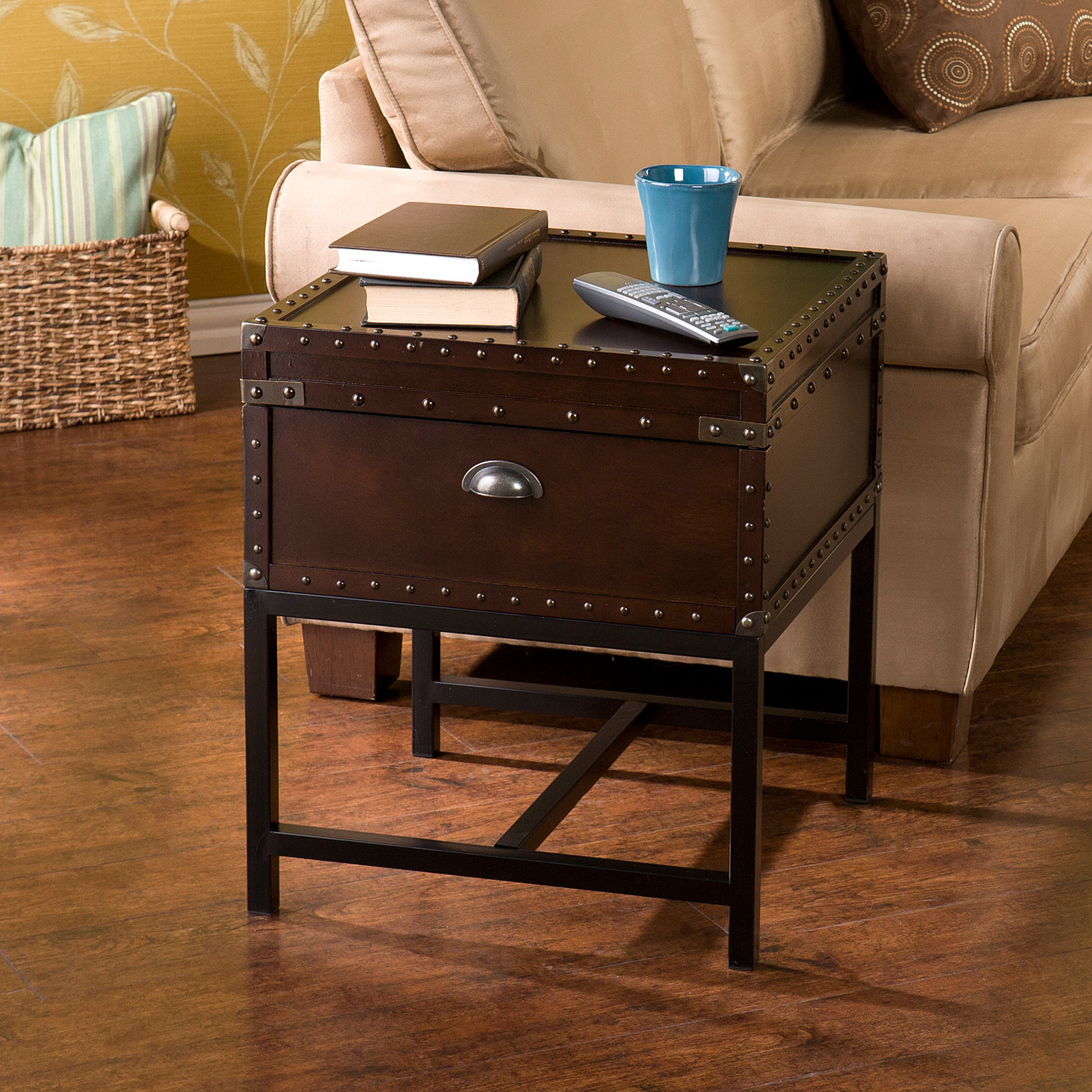 narrow inspirations in with drawers end design room spice storage of house black walmart tables living table