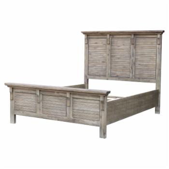 Sunset Trading Solstice Grey Platform Bed