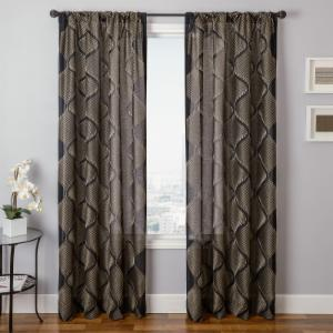 Rizoel Rod Pocket Curtain