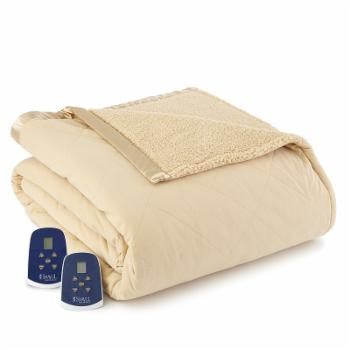 Sherpa Electric Heated Blanket by Micro flannel