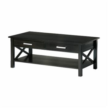 Brooklyn + Max Providence Contemporary Pine Wood Coffee Table