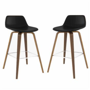 Brooklyn & Max Harvard 26 in. Counter Height Stool - Set of 2