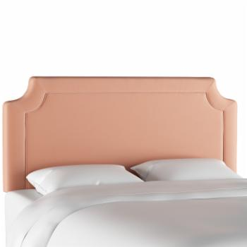Skyline Furniture Notched Headboard - Titan Pink Champagne
