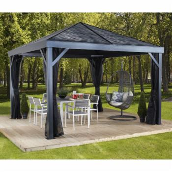 SOJAG INC Sanibel 8 x 8 ft. Steel Gazebo