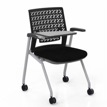 Mayline Thesis Training Chair with Arms and Tablet