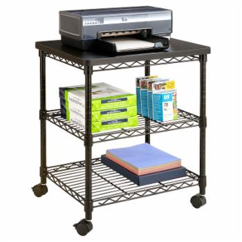 Safco Desk Side Wire Machine Stand