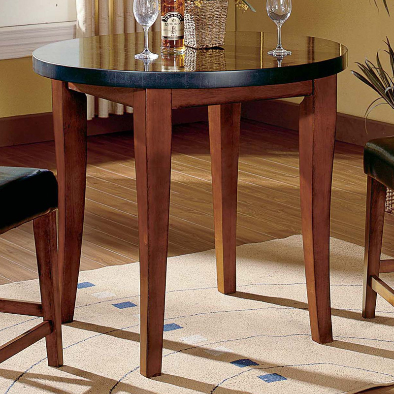 steve silver montibello counter height round pubdining table hayneedle