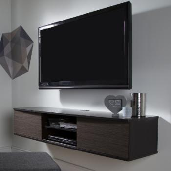 South Shore Agora 57 in. Wall Mounted Media Console