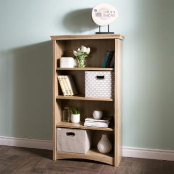 Gascony 4 Shelf Bookcase by South Shore