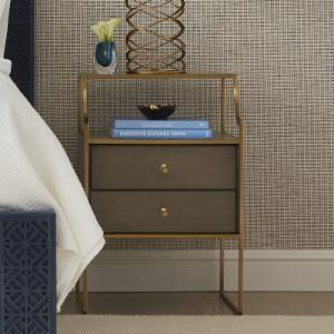 metal nightstands | hayneedle Metal Nightstand