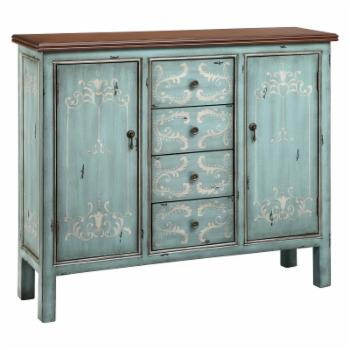 Stein World Tabitha Four Drawer Accent Cabinet