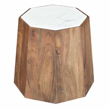 STYLE N LIVING Savory Hexagonal Drum Table