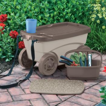 Suncast Garden Scooter Cart