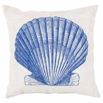 Surya Shell Of The Sea Indoor/Outdoor Pillow