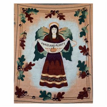 Tache Home Fashion Thanksgiving Dinner Wish Tapestry Throw Blanket