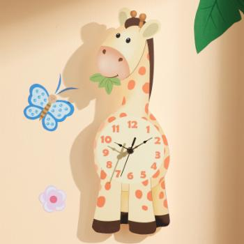 Fantasy Fields Sunny Safari Giraffe Wall Clock