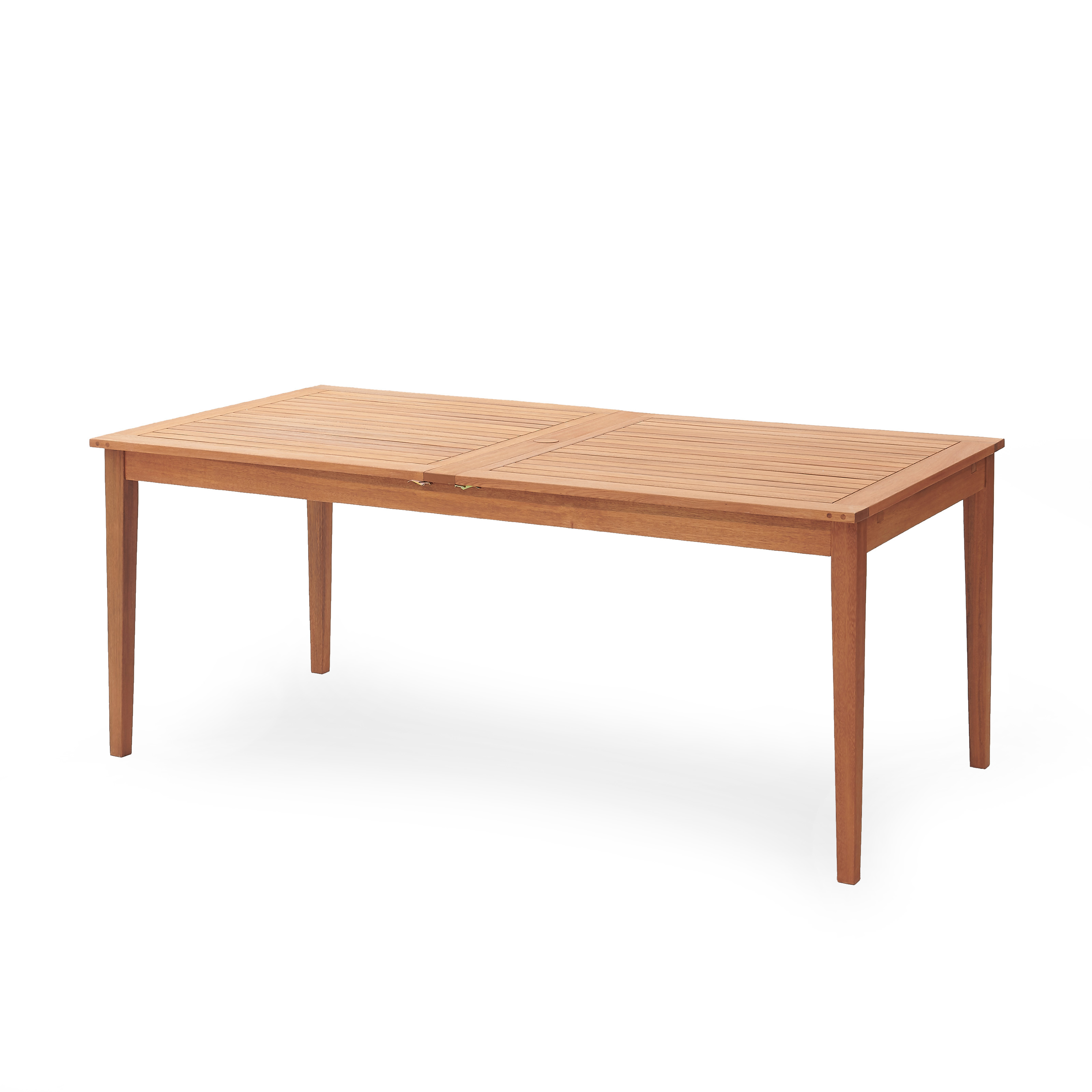 Belham Living Brighton Extension Outdoor Dining Table Natural