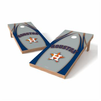 Wild Sales MLB XL Shield V Logo Cornhole Set
