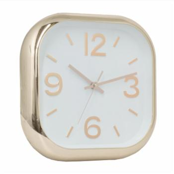 Three Hands Square Wall Clock