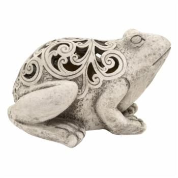 Three Hands Resin Frog Decoration