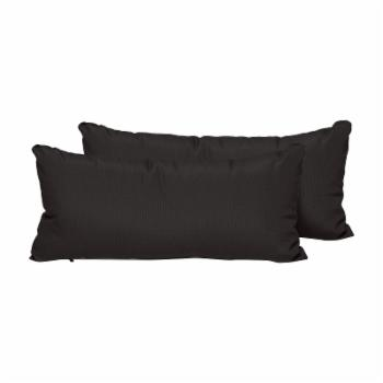 TK Classics Solid 22 x 11 in. Outdoor Throw Pillow - Set of 2