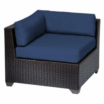TK Classics Belle Outdoor Corner Chair with 2 Sets of Cushion Covers