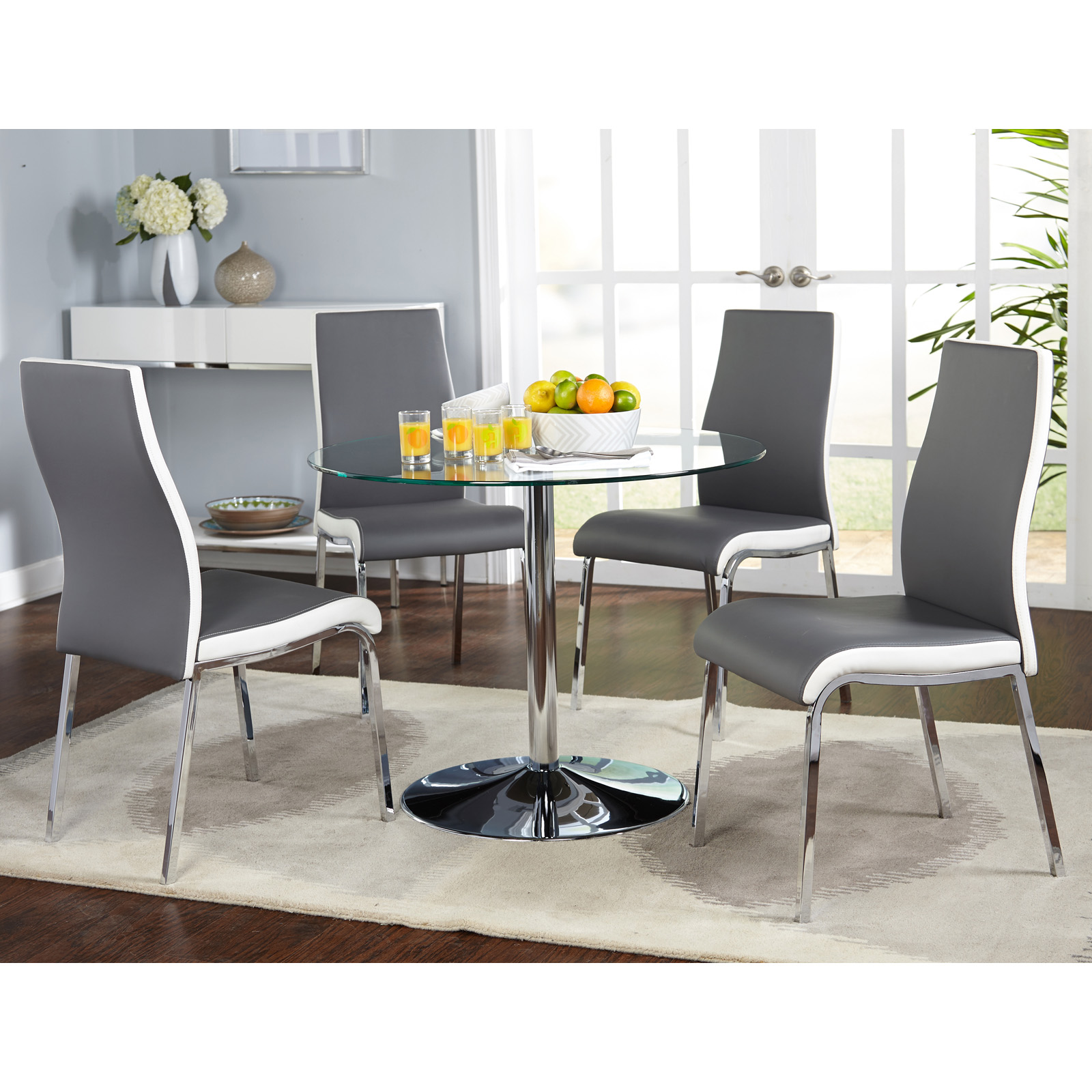 Target Marketing Systems Nora 5 Piece Dining Table Set
