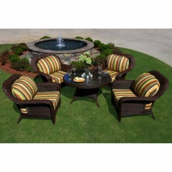 Tortuga Sea Pines 5 Piece Conversation Set