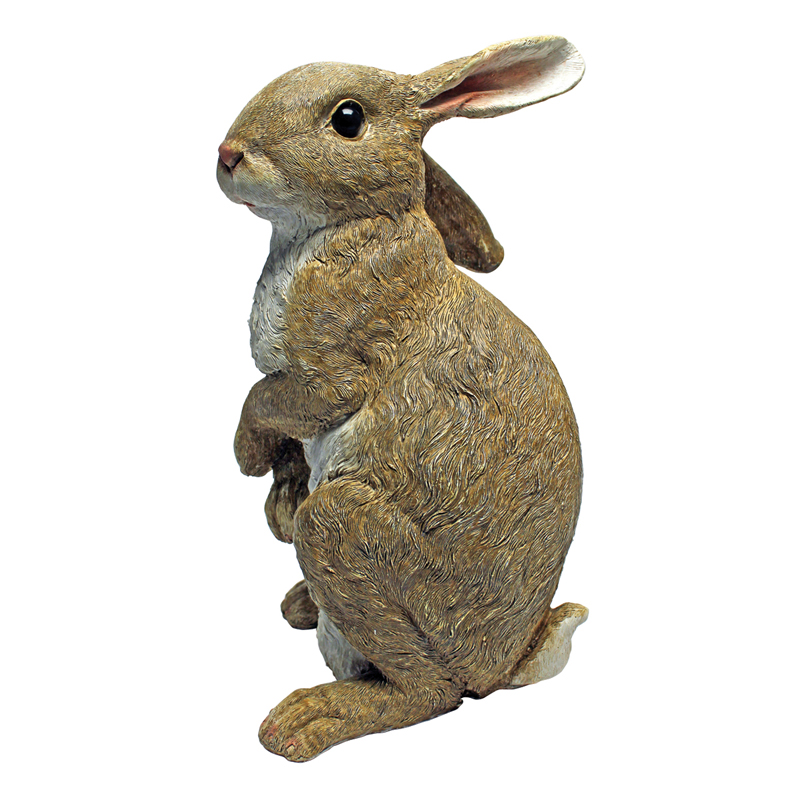 Design Toscano Hopper The Bunny Standing Garden Rabbit Statue