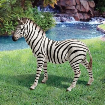 Design Toscano Zora the Zebra Statue - Set of 2