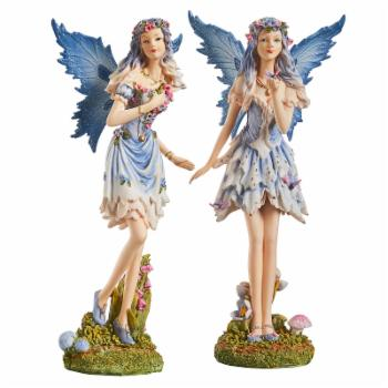 Design Toscano The Windforest Fairies Statue Collection - Set of 2