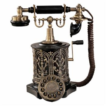 Design Toscano The Swedish Royal Family Replica Telephone