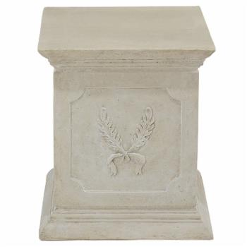 Design Toscano Laurel Plinth